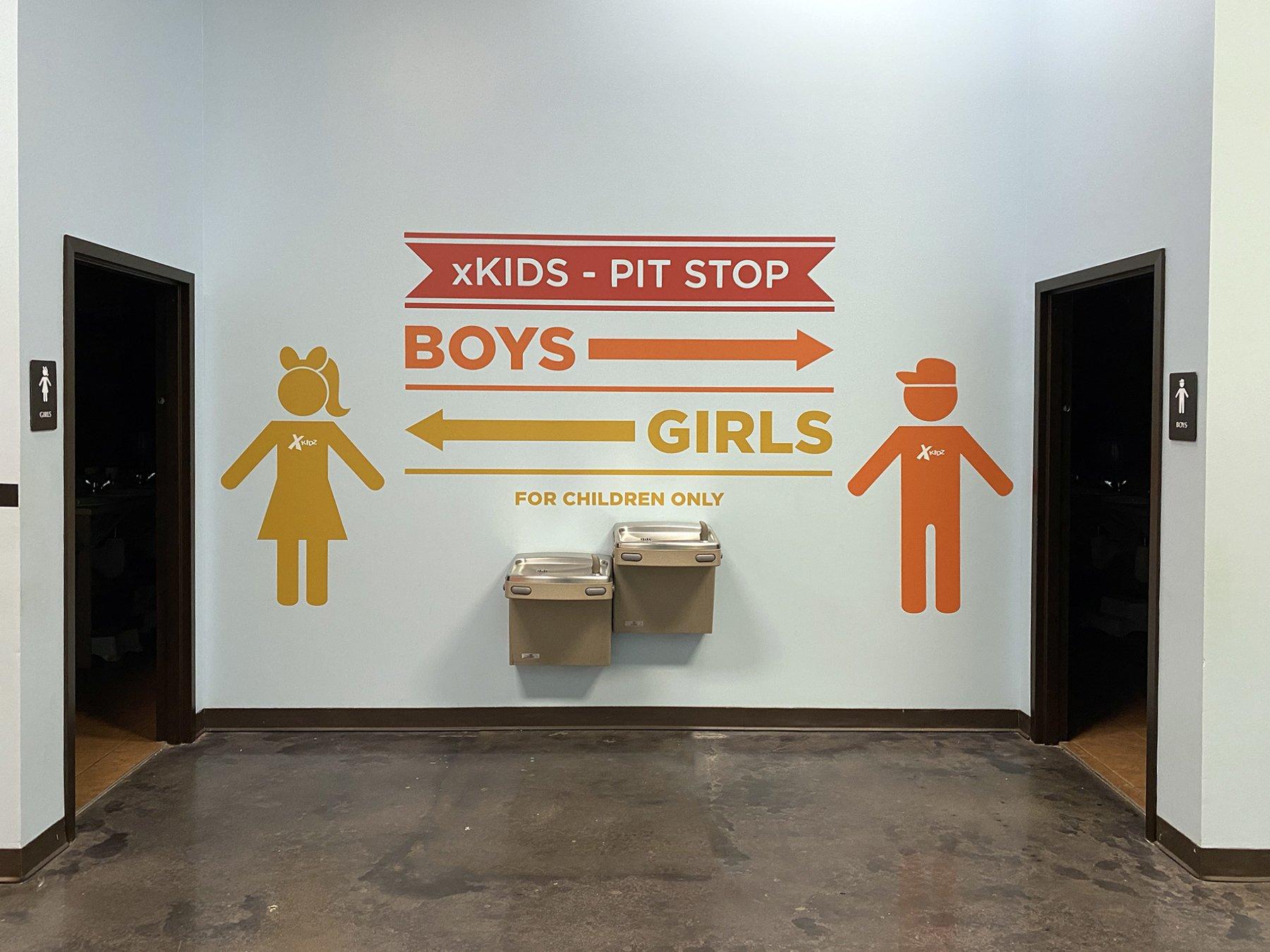 Kids Church Wall Graphic