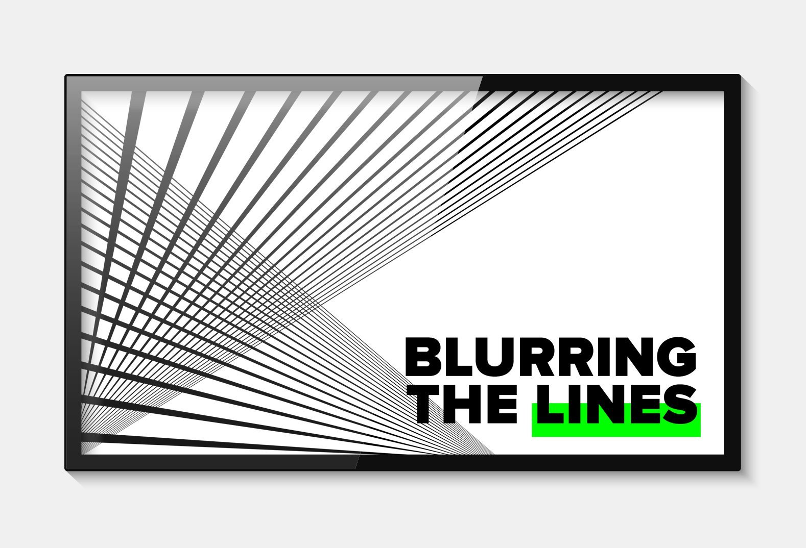 Blurring the Lines Sermon Series
