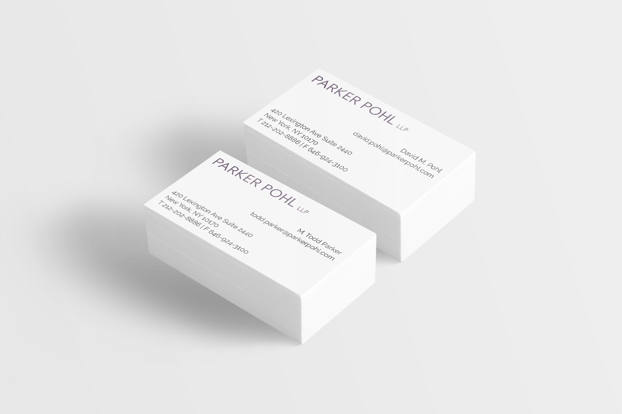 Parker Pohl Business Cards