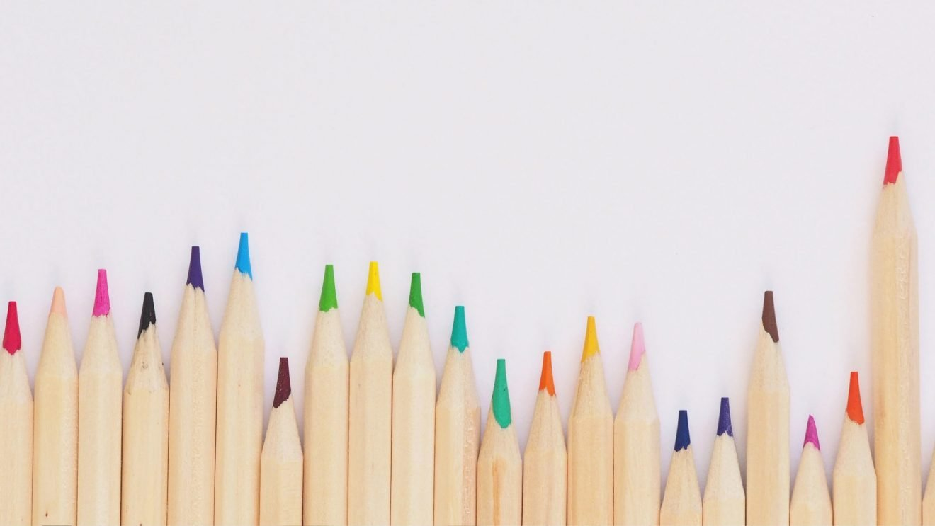 Design Matters Post Image with Colored Pencils