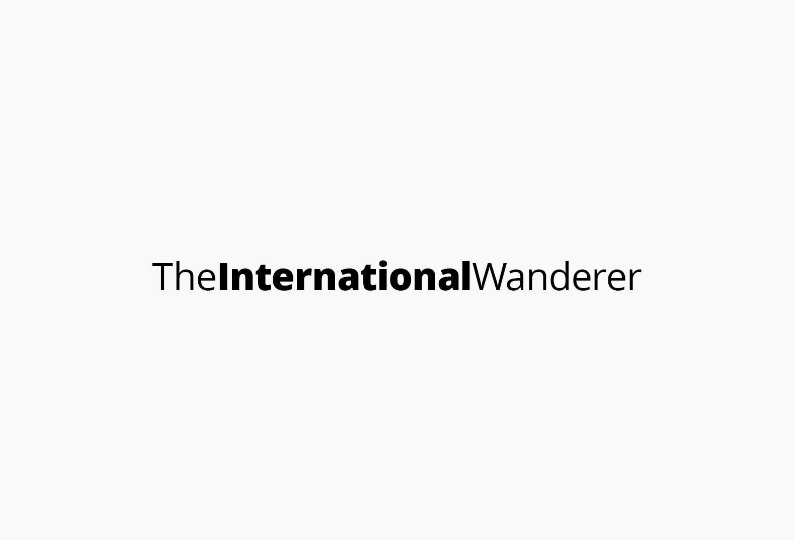 The International Wanderer Logo